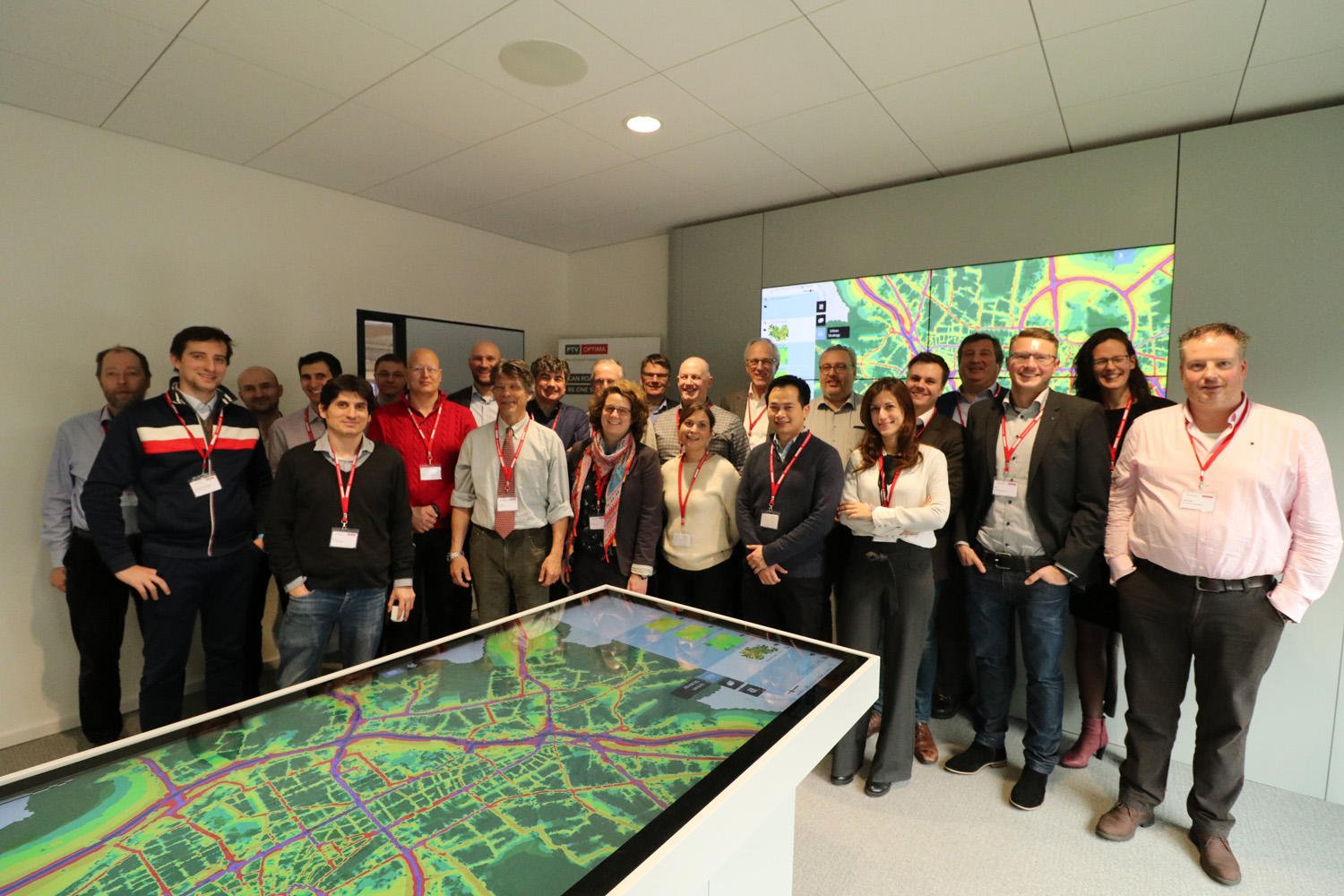 Clusters 2.0 consortium at the PTV's Mobility Lab
